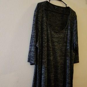 Soft cozy 3/4 sleeve shirt